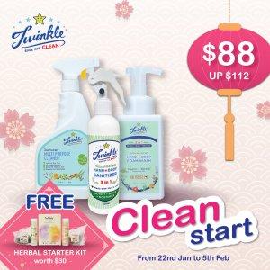 2021 Twinkle Clean Start